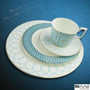 Piatti piatti retrò piastra modello set nordico luce light lusso bone cina cena posate set piatti ceramica decorazione della cucina DK50PS