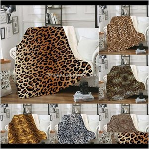Swaddling Nursery Bedding Baby, & Maternity Drop Delivery 2021 Throw Leopard Sherpa Blankets Square Picnic Blanket Kids Couch Soft Plush Beds