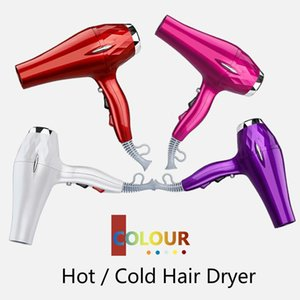 Hair Dryers 2000W High Power Electric Dryer And Cold Air Blower Family El Gift OEM Customized Colour Blow With Nozzle