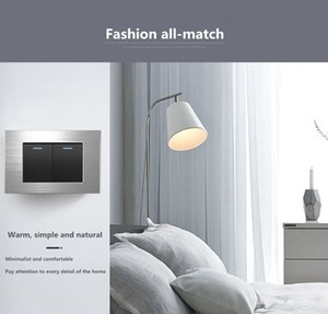 fashionable joker socket 15A American standard silver brushed 110v Taiwan six-hole with USB wall power switch panel