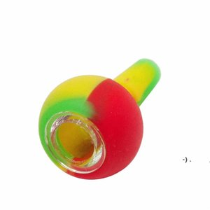 14mm Dual Use Silicone Herb Bowl Adapter Ash Catcher for Glass Bongs Water Pipe Silicone Smoking Stuff OWF3270