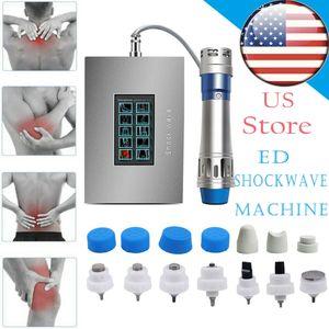 Электромагнитная ударная волна терапии Машина для тела Массажер для боли в суставах для облегчения боли Ed Лечение Амортизационная Волна Внекорпоративное физиотерапия Медицинское оборудование