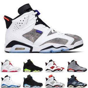 6s men basketball shoes electric green dmp carmine black cat hare tinker flint mens trainer sports sneakers