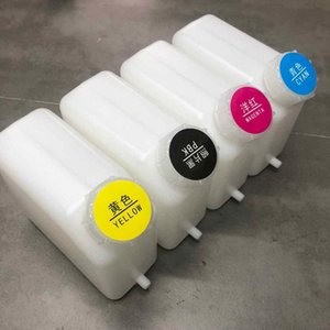 Ink Cartridges 1.8L 4 Color Bottle For Roland Mutoh Mimaki Bulk System Tank