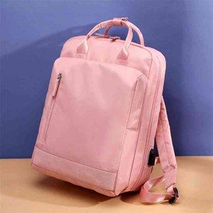 Teenage Shoulder Bags Teen Female Backpack Fashion Women Daypack Girl School Bag Children Teenager Student Schoolbags 210911