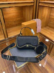 Weibliche Tasche Mode Druckkette Gedruckt in einem einzigen Mädchen Frauen Geldbörsen Tote Handtaschen Schultertasche Handtasche Schulter Messenger Frau Taschen