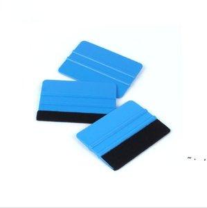 Squeegee Decals tool flannelette scraper blade hand tools Car Wrap Applicator instrument Vinyl Film Wrapping Felt Edge Decal Sticker BWC7309