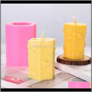 Handwerkzeuge Nette 3D Handgemachte Seile Seifen Bienenwachs Kerzen Harzform Kerze Herstellung Kit liefert Owe3487 YVMVX SFBDJ