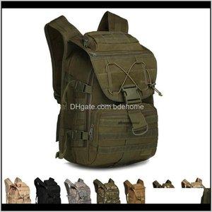 Спорт на открытом воздухе Drop Доставка 2021 Тактический Военный рюкзак 3 дня Штурм Пакет на открытом воздухе Спорт Кемпинг Пешие прогулки Trekking Охота на камуфляж A