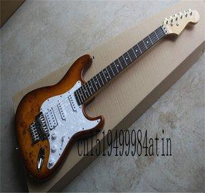 Top Quality custom body Chrome Tremolo Floyd Rose Electric Guitar
