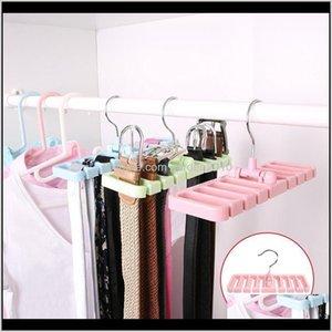 Boxes & Bins Multifunctional Hook Organizer Holder Hanger Wardrobe Belt Tie Scarf Storage Rack @Ls Au03 Se6Hd J062M