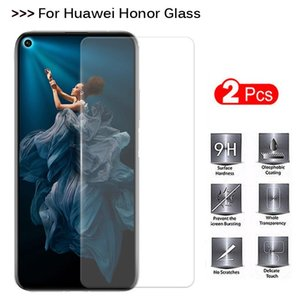 Safety Glass On Honor 20 Screen Protector Protective For Huawei View V20 20i 20Lite Lite Light Sheet Film Cell Phone Protectors