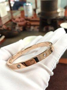 Designer women carti Bracelet Jewelry Bangles cleef Screw Party Bangle Wedding Loves bracelet Couple van Gift Bracelets Fashion Luxury with red box gsdfgsdrtrtll