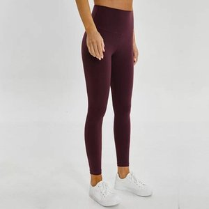 women yoga pants high waist wun der sports gym wear leggings elastic fitness lady overall full tights workout thicker material