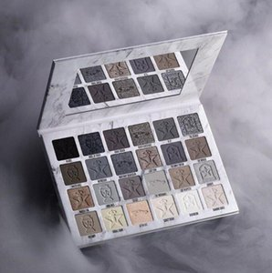 high quality Newest JS classic Five Star Cremated eyeshadow palette Makeup Cremate 24 color eyeshadows Shimmer Matte free delivery
