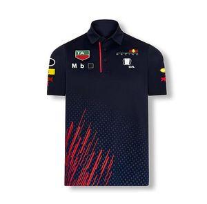 Formula World Championship F1 Racing T-shirt Lapel POLO Short Sleeve Team Workwear Men's and Women's Summer