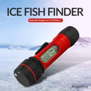 Portable 0.8-90M Fish Finder Depth Sonar Alarm Sensor Transducer Fishfinder For Outdoor Fishing