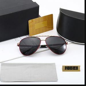 نظارات شمسية للرجال الاستقطاب الرجعية الأزياء 2021 رجل نظارات الشمس مصمم العلامة التجارية UV400 مع المربع الأصلي