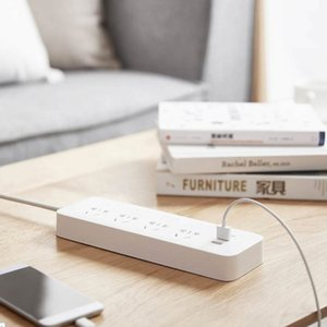 Power Socket Strip With Switch 3 USB 2A Fast Charging Adapter Mi Extension Sockets high quality