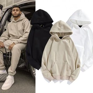 Мода мужские плюшевые трексуиты с капюшоном Mans Womens Streetwear Essentials Свободные толстовки Многоцветный костюм Hiphop Пара Теплые костюмы