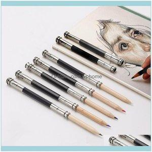 Refills Supplies Business & Industrialrefills 1 Pcs Adjustable Dual Head Pencil Extender Holder Sketch School Office Painting Art Write Tool