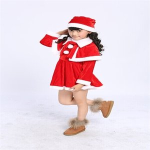 Costumes children dress up boys and girls show costumes Halloween santa claus clothes