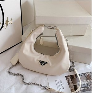 2021 PD Re-Edition 2006 Bags Classic Elegant single chain Handbag Women Many Colors Cross Body Bag Ladies Half Moon Handbags Cross-body purses