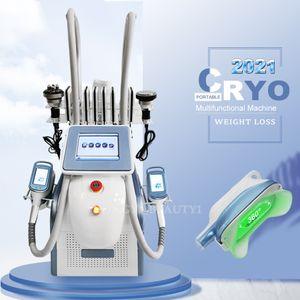 FAT Congélation Minceur Machine 6 en 1 Cavitation de perte de poids RF Cryo Fat Freeze Equipement de beauté