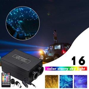 Araba Çatı Yıldız Işıkları LED Fiber Optik Tavan Kiti Yıldızlı Gökyüzü Işık App / RF Uzaktan Kumanda Dekor Farlar