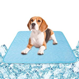 Kennels & Pens Cooling Dog Blanket With Square Shape Multi-Use Quick Dry Soft Durable Absorption Long Lasting For Cat L9
