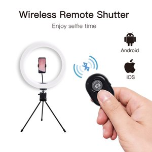 LED Ring Light 10 Inch Diameter Three Modes Selfie Suitable for Make Up Smartphone Shooting Character