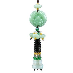 Cars Decoration Automobile Supplies Arts Pendant Symbolizes Beauty And Good Luck For Auto Creative Chinese Style Free DHL