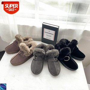 [in stock]2020 winter warm thick big cotton snow boots female Korean version of soft girl cute all-match bread shoes plush #pT54