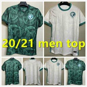 Saudi-Arabien Fußball-Trikots 20 21 Nationalmannschaft Salem Al Dawsari Abudullah Alhamddan Firas Albirakan Männer Kits Football Shirts Uniformen