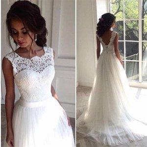 Robe de Mariee Long Suknia Lubna Vestidos Robe de mariée Satin Robe de Soiser Longue Vestine simple Vestido de Novia Bride à être