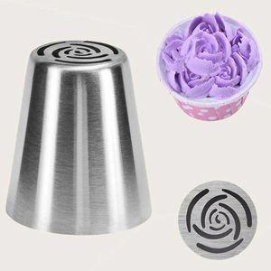 USA Stockkuchen Butterwerkzeug mit kugelförmigem dekorativem Mund-Set Küchenbacken Edelstahl Eine Größe passt alle