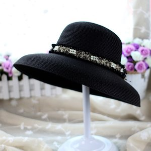 Summer Outdoor Teenager Straw Hats England Style Beach Sun Hat Women Wide Brim Hats Sun Protection Hat