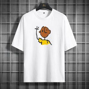 Роскошный дизайнер футболка мужская трексуита