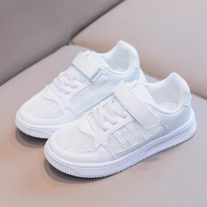 kids canvas shoes little big boys trainers shoe fashion girls student white sneaker for children