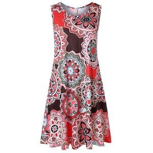 Tunic Women Sleeveless Womens Dress Plus Size Tops Vintage Blouse Turtleneck Plaid Spring And Autumn Elegant Clothes Ladies V Neck