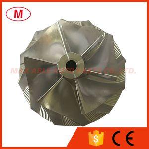 T04E 442476-0014 56.48 74.99mm 6+6 blades Turbocharger Turbo Billet compressor wheel Aluminum 2618 Milling wheel for 452092-0001 465225-0009 465355-0003 Cartridge CHRA