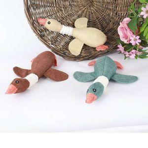 Gansos Yizhi Chowable Cachorro Suprimentos Pelúcia Molares Vocal Pet Toys