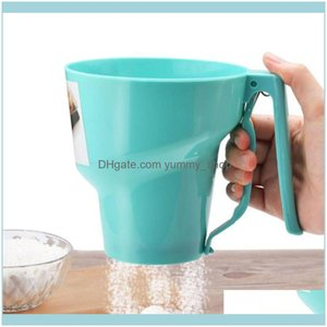 Bakeware Baking Pastry Tools Home Garden Kitchen, Dining & Bar Funnel Shape Sifter Fine Powder Flour Icing Sugar Sieve Cup Handheld Mesh Oil