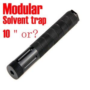 모듈 형 솔벤트 트랩 10 인치 Napa 4003 Wix 24003 연료 필터 1 / 2x28 8 컵 스크류 콘 5 / 8x24 자동차 용