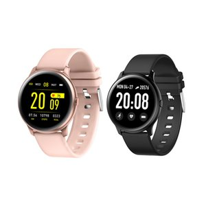 KW19 Smart Watch Bracelet Wristbands Fitness Tracker Touch 1.3 inch Screen Heart Rate Monitoring Smartwatch For Galaxy Active