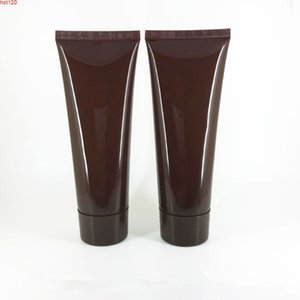 100MLX50pc brown Empty Soft Tube For Cosmetic Packaging 100G Lotion Cream Plastic Bottle Skin Care squeeze Containers Tubegood qty