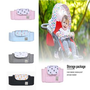 Stroller Parts & Accessories Universal Fit Baby Organizer With Insulated Cup Holders Detachable Phone Bag And Shoulder Strap