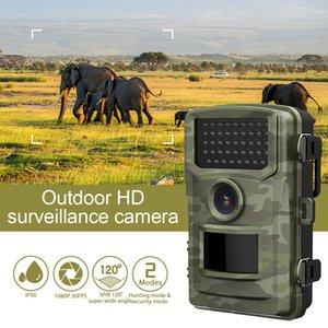 1080p Trail Cámara de caza Cámara Wildcamera Night Version Scouting Cámaras Photo Traps Track Video Resolución de video para al aire libre + exquisito caja de venta