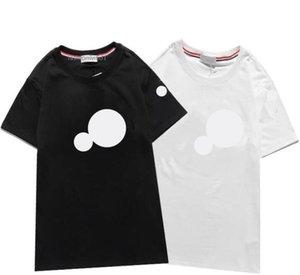 Moda mujer hombres camisetas de manga corta de verano t shirt Último camiseta de aptitud transpirable simple Ropa de algodón Embroid