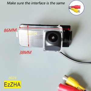 Caméras Caméras Capteurs de stationnement Ezzha HD Caméra CCD Fisheye Nuit pour Geniss Taiida Livina GF-R 350Z 370Z Sentra Cube